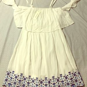 Franchesa's White Summer Dress